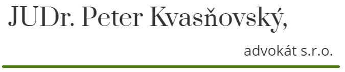 JUDr. Peter Kvasňovský
